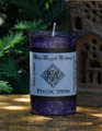 PSYCHIC VISION Spell Candle . Otherworldly Path Workings, Clairvoyance, Ancestral and Spirit Workings