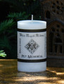 PET MEMORIAL Candle . Blessing Spell to Set Your Familiars Soul Free
