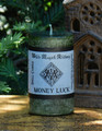 MONEY LUCK Spell Candle . Money Drawing and Abundance Workings