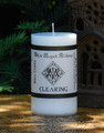 CLEARING Spell Candle . Clear and Banish Negative Energy and Create a Positive Environment