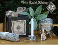 Sacred Sage Herbal Clearing Smudge Kit . For Cleansing and Clearing the Home/Yourself of Negativity, Banishing, Protection