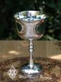 Sacred Symbol Triple Moon Goddess Chalice Goblet Cup