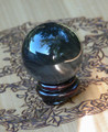 Black Rainbow Obsidian Crystal Gemstone Sphere . Protection, Peace, Balance, Change, Growth, Deflecting Negative Energies, Stress and Anxiety