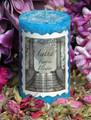 Faerie Flower Shimmering 2x3 Pillar Candle . Lavender, Musk, Sandalwood, Moss & Violet . Summer Solstice, Midsummer, Faerie Magick