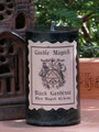 Black Gardenia Candle Magick 2x3 Pillar . Lunar Magick, Love, Peace, Compassion, Dream Works, Fertility, Healing, Psychic Awareness
