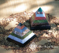 Chakra Gemstone Pyramid ~ Universal Energy, Healing the Body, Mind and Spirit