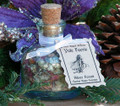 Yule Faerie Silver Forest ~ Shimmering Herbal Resin Honey Incense ~ Holiday Faerie Gardens, Essential Oils, Heartwoods, Herbs