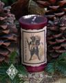 Krampus ~ Holiday Pillar Candle 2x3 ~ Gruss Vom Krampus ~ For Naughtly Little People