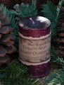 Sugared Cranberry ~ Twelfth Night Holiday Pillar Candle 2x3 ~ Baked Sugared Cranberry, Cinnamon Stick, Orange Zest, Vanilla