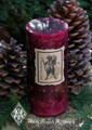Krampus ~ Holiday Pillar Candle 2.5x6 ~ Gruss Vom Krampus ~ For Naughtly Little People