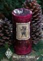 Krampus ~ Holiday Pillar Candle 2.5x6 ~ Gruss Vom Krampus ~ For Naughtly Little People