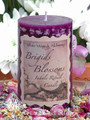 *Brigids Blossoms Imbolc Candles ~ Flourishing Abundance, Renewal, Fertility, Purity and Illumination
