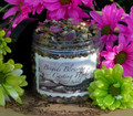 Brigids Blossoms Imbolc Casting Herbs 16oz ~ Festival of Light Bonfires ~ Traditional Herbs, Flowers, Milk and Vanilla Shimm