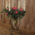 Tatiana . Stunning Tabletop Flower Vase and Candleholder