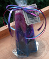 Goddess Treasure Candle ~ Filled with Treasures and Trinkets including a Silver Charm Pendant