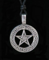 Celtic Pentacle Pewter Necklace