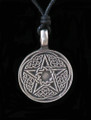 Celtic Knot Pentacle Pewter Necklace
