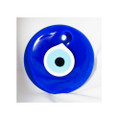Evil Eye . 3.5 Inch Glass Protection Amulet