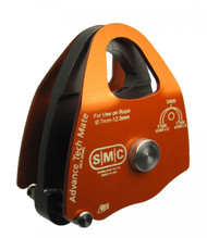 SMC Advance Tech Mate, double pulley, anodized aluminum, NFPA