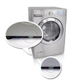 """LG WDP4R 14"""" Top Mount Pedestals for Front Load Washer/Dryer, Red"""