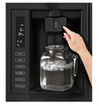 LG LFX28979SB 28 Cu. Ft. French Door Refrigerator with Dual Ice Makers, Smooth Black