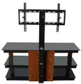 "Avista Innovate Series Nexus 55"" TV Stand with Swivel and Tilt Mounting system in Rich Espresso"
