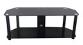 "Avista Classical Series Matrix 55"" TV Stand in High Gloss Piano Black"
