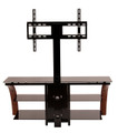 "Avista Innovate Series Tucson 55"" TV Stand with Swivel and Tilt Mounting system in Rich Espresso"