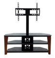 "Avista Innovate Series Velaro 55"" TV Stand with Swivel and Tilt Mounting system in Rich Espresso"
