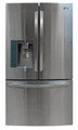 LG LFX31925ST(Scratch/Dent) 30.7 cu. ft. Ultra Capacity French Door Refrigerator, Stainless Steel - P3601