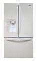 LG LFX31925SW (Scratch/Dent) 30.7 cu. ft. Ultra Capacity French Door Refrigerator, Stainless Steel (P2100)