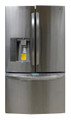 LG LFX31925ST (Scratch/Dent) 30.7 cu. ft. Ultra Capacity French Door Refrigerator, Stainless Steel (SH0092)