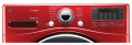 LG WM3070HRA 3.7 cu.ft. Large Capacity Steam Washer in Red