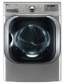 LG DLGX8001V 9.0 cu. ft. Mega Capacity Steam Gas Dryer, Graphite Steel