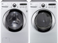LG WM2650HWA 3.6 cu. ft. Front Load SteamWasher / DLGX2651W 7.3 Cu. Ft. Gas Steam Dryer-White