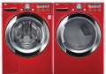 LG WM3250HRA / DLEX3250R Red Steam Washer & Dryer Set