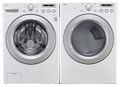 LG WM3050CW / DLE3050W Front Load Washer & Dryer Set