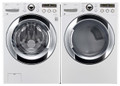 LG WM3250HWA / DLEX3250W Steam Washer & Dryer Set