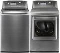 LG DLEX5101V 7.3 cu. ft. Front Load Steam Electric Dryer 14 Drying Cycles TrueSteam Technology SteamFresh SteamSa