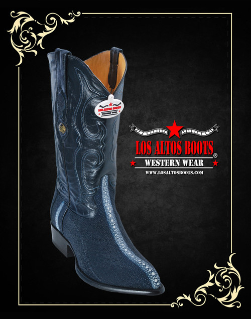 Stingray Western Boots Black 991105