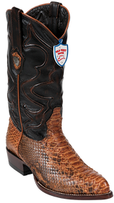 Wild West Rustic Honey Western Boots J-Toe 2995780