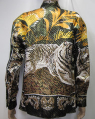 Mens Tiger Silk Shirt