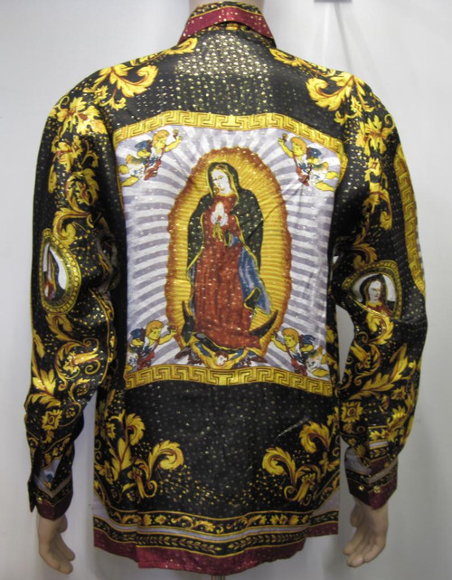 Our Lady Of Guadalupe Silk Shirt Georgetowncowboyboots