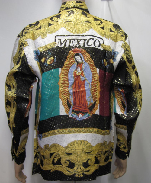 Our Lady Of Guadalupe - Virgin Mary Silk Shirt