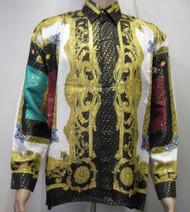 Virgen Maria Mexico Silk Shirt