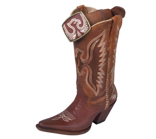 Premier Eagle Boots Brown
