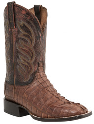 Lucchese Since 1883 Mens Western Landon Tan Hornback Caiman Tail M2685