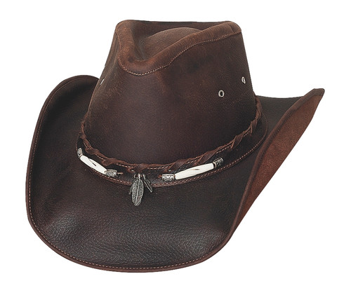 Bullhide Hat Top Grain Leather 4052CH