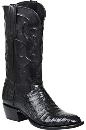 Lucchese Charles M1636 Belly Crocodile Western Boots