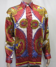 Plato Style Silk Shirt Baroque Fashion Shirt